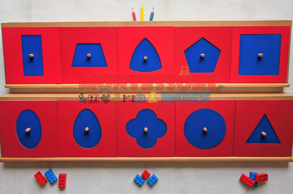 Wooden Insets – pre-writing Montessori tool