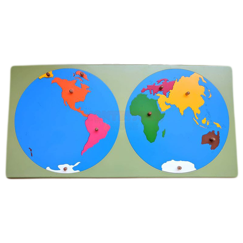 World Map Puzzle – Montessori