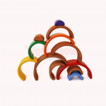 Waldorf toys - small wooden rainbow - grimms
