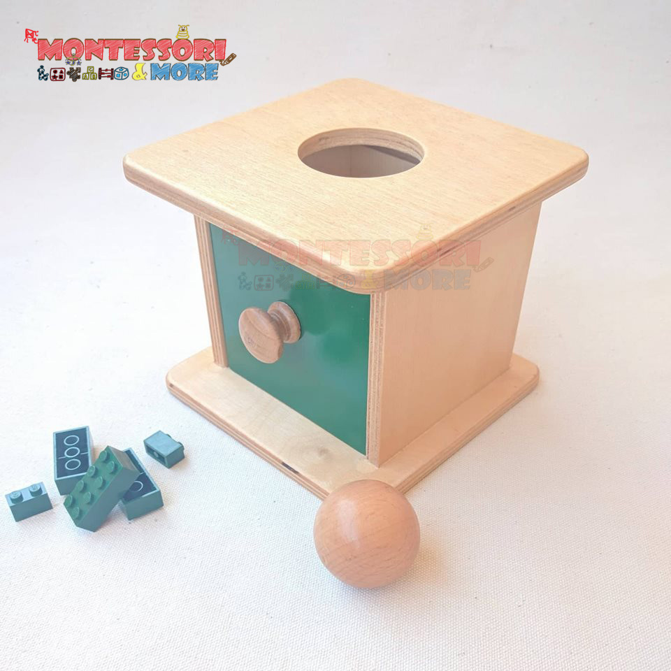Object permanence Box – Montessori