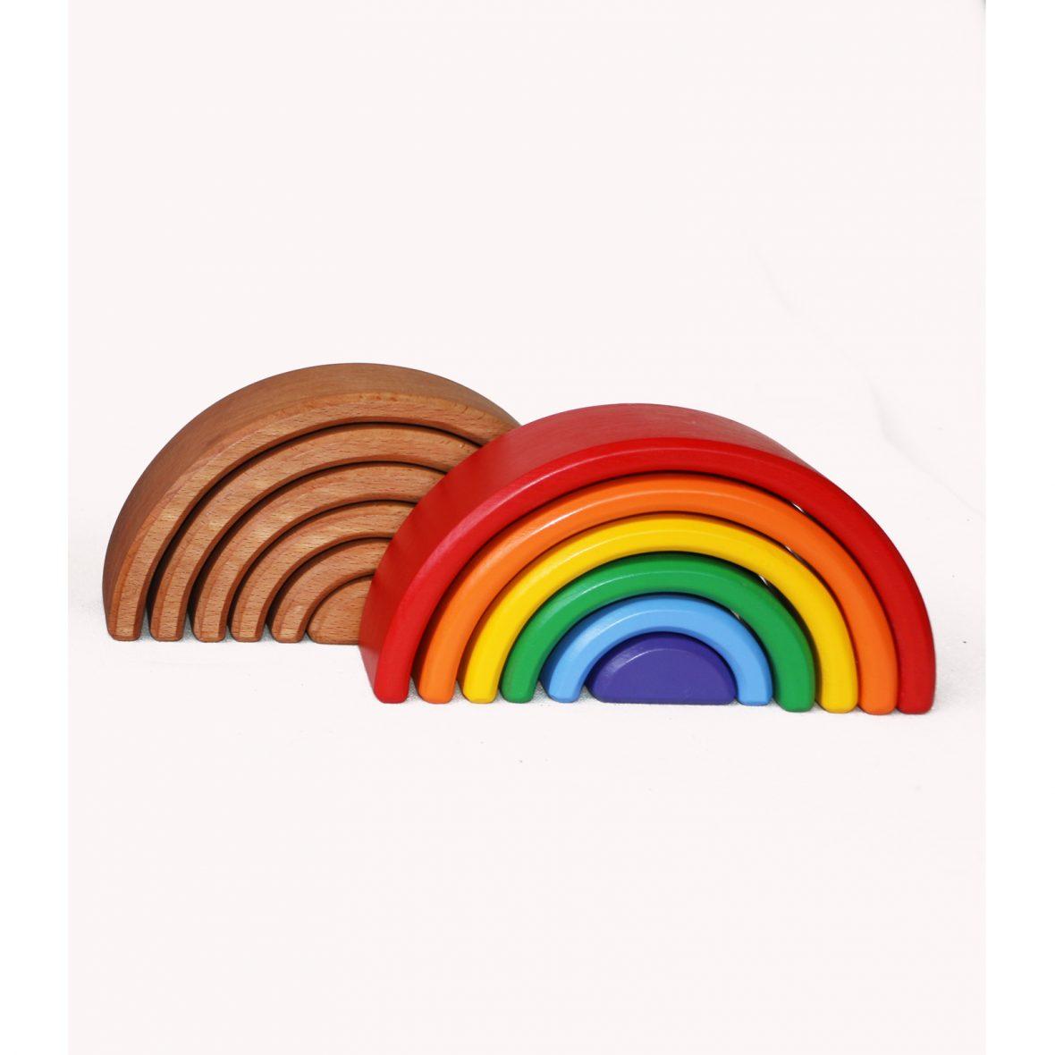 Small Rainbow 6 pieces – Waldorf