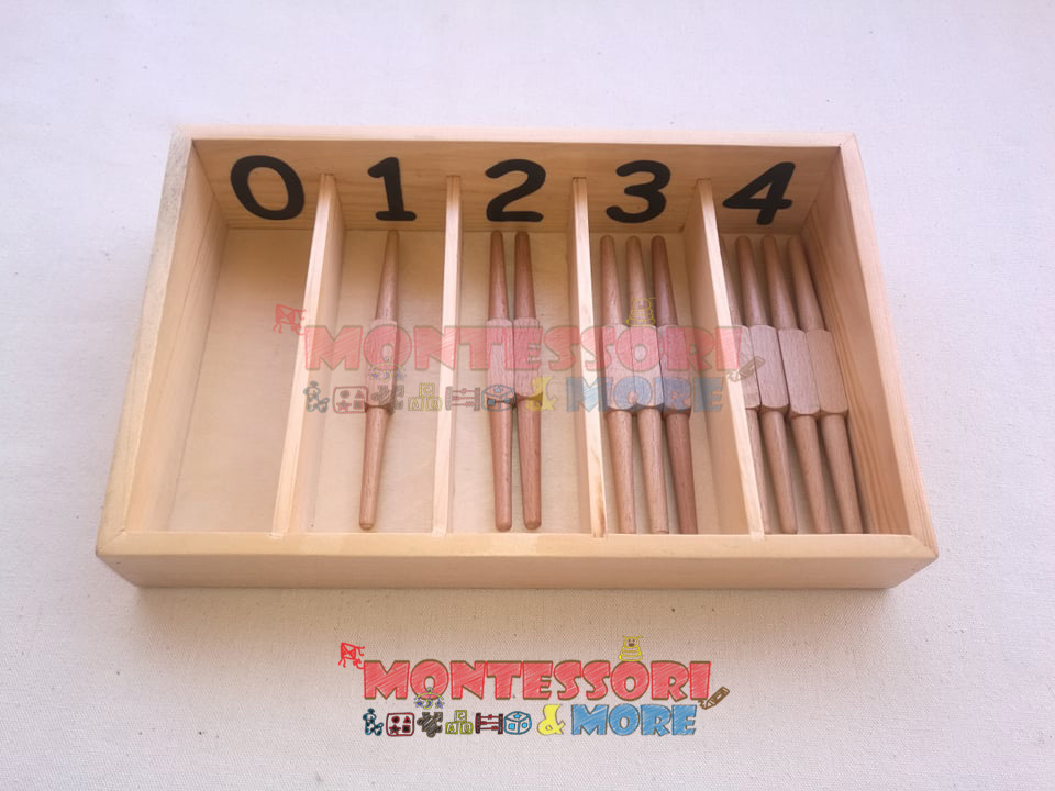 English Spindle Box – Montessori