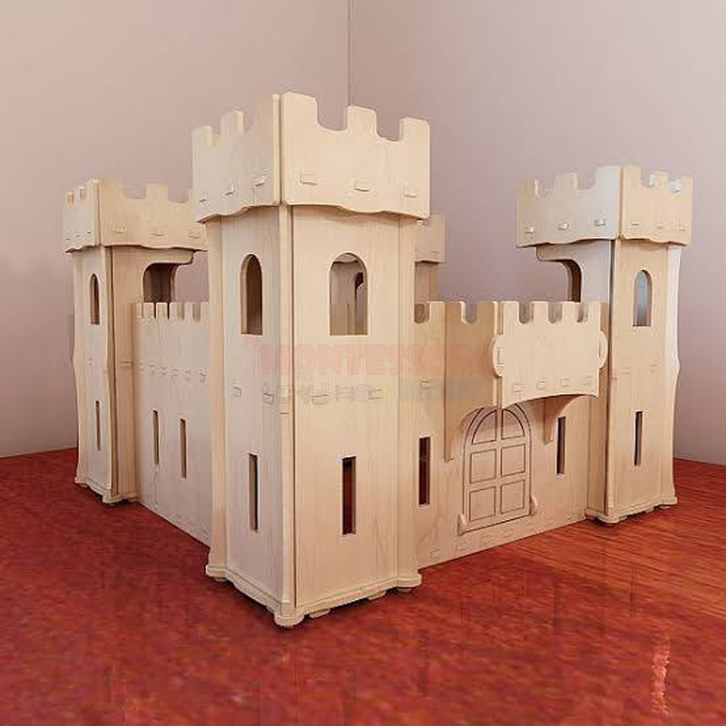Wooden Castle toy