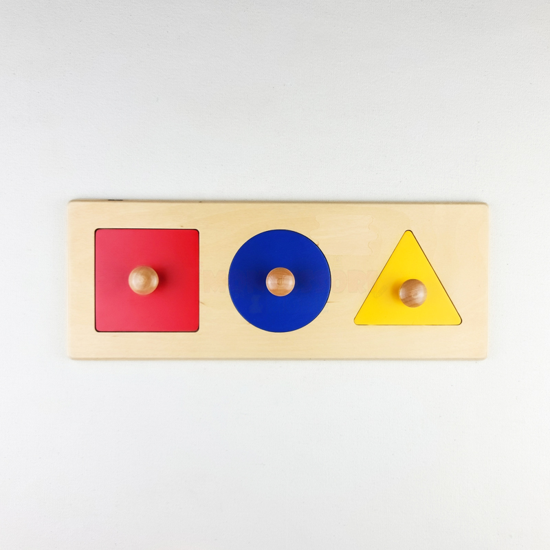 Basic Geometric shapes puzzle – Montessori