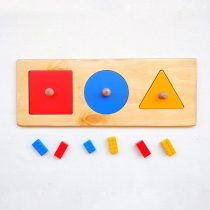 Basic Geometric shapes puzzle - Montessori