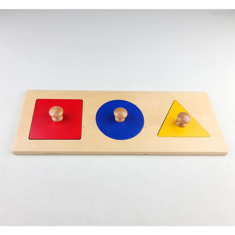 basic geometric shapes puzzle