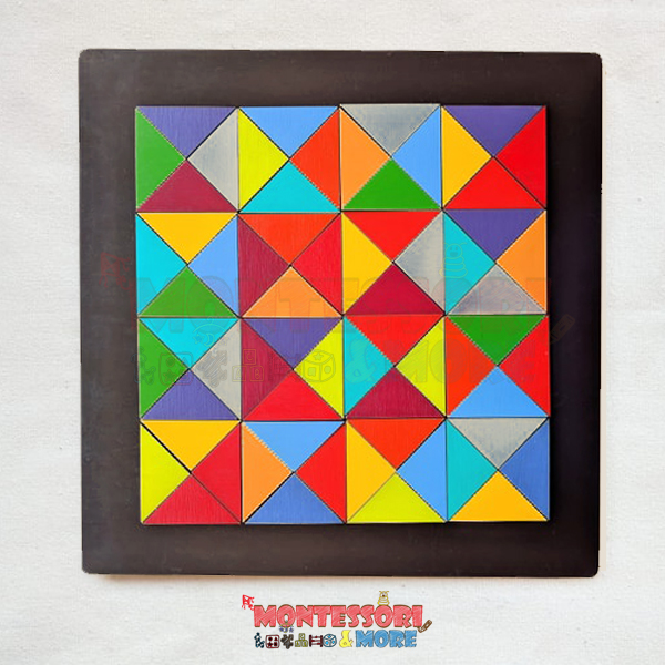 Magnetic triangles-Waldorf – Open ended Toys