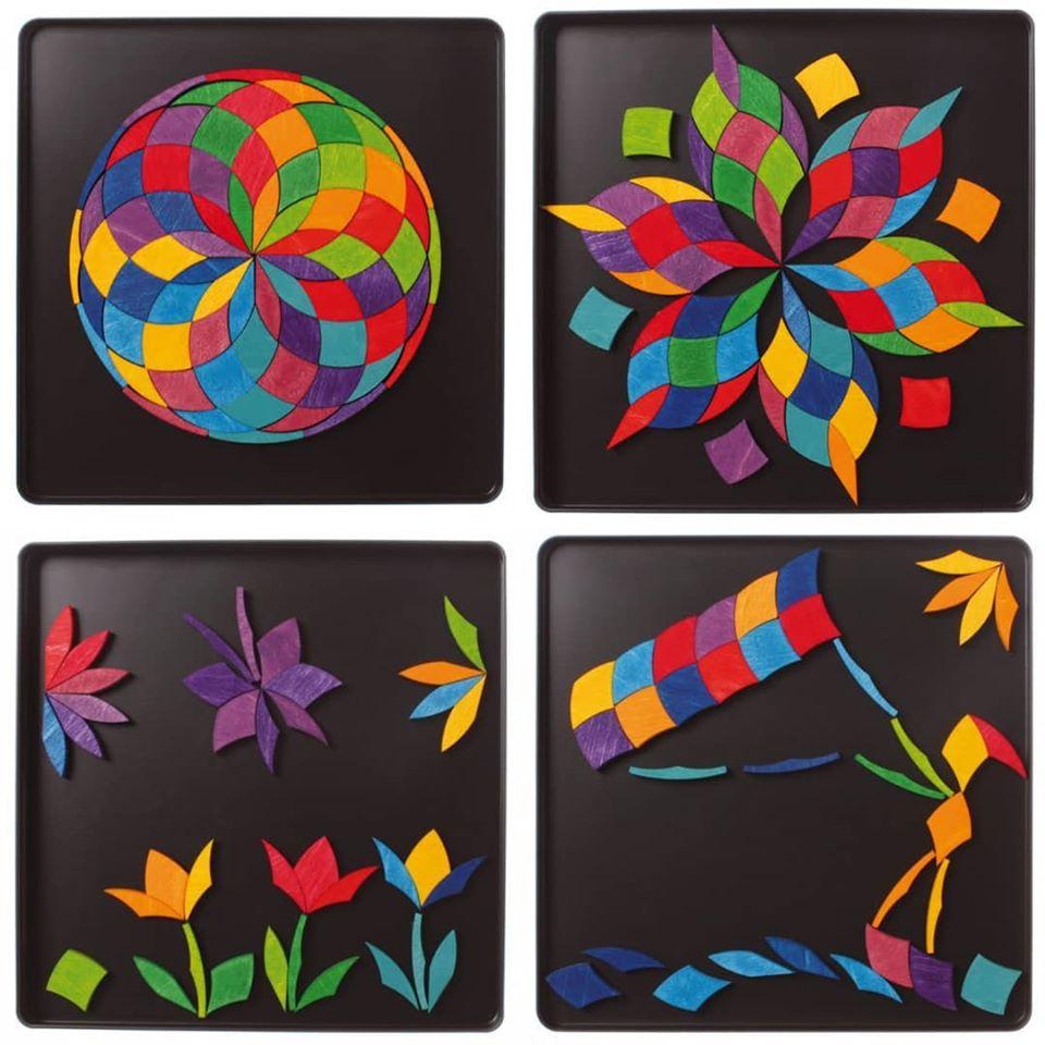 Magnetic Rainbow circle Mosaic – Waldorf