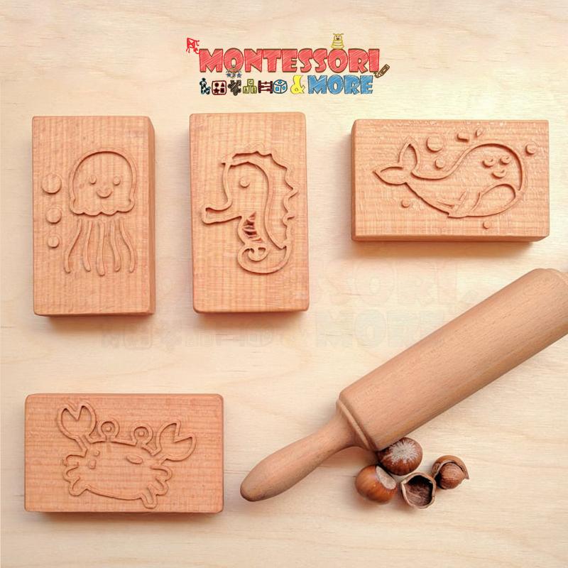 Sea Animals baking Stamp set