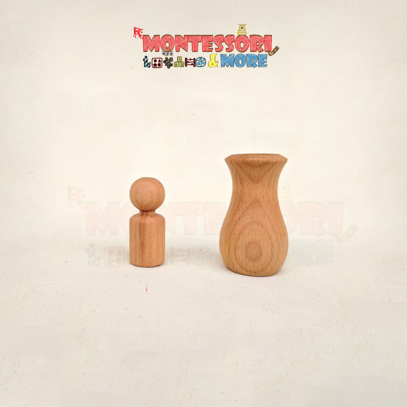 Egg with cup, Ball with Bowl Montessori