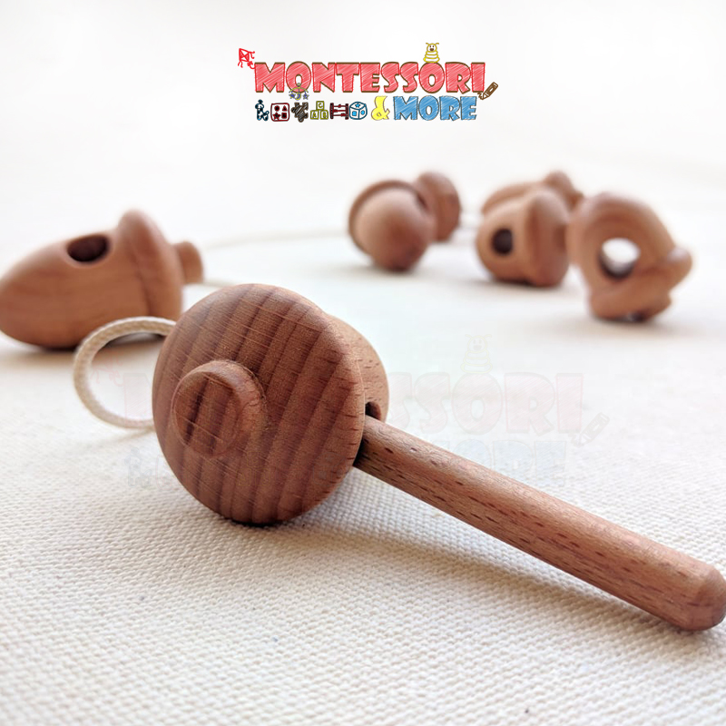 Montessori lacing toy
