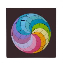 Magnetic Rainbow circle Mosaic - Waldorf